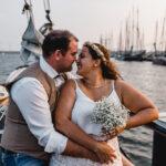 Bijzonder trouwen aan boord van een schip in Kampen De Hester