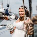 huwelijksbootje in Kampen trouwen aan boord van De Hester